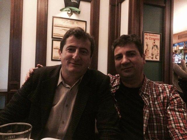 Grigore Cartianu si Dacian Micu. Jurnalisti Romani! Sintem Romani si avem singele RosuGalbenAlbastru!