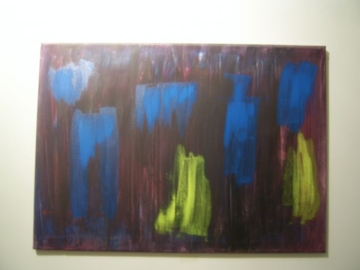 My second abstract painting.