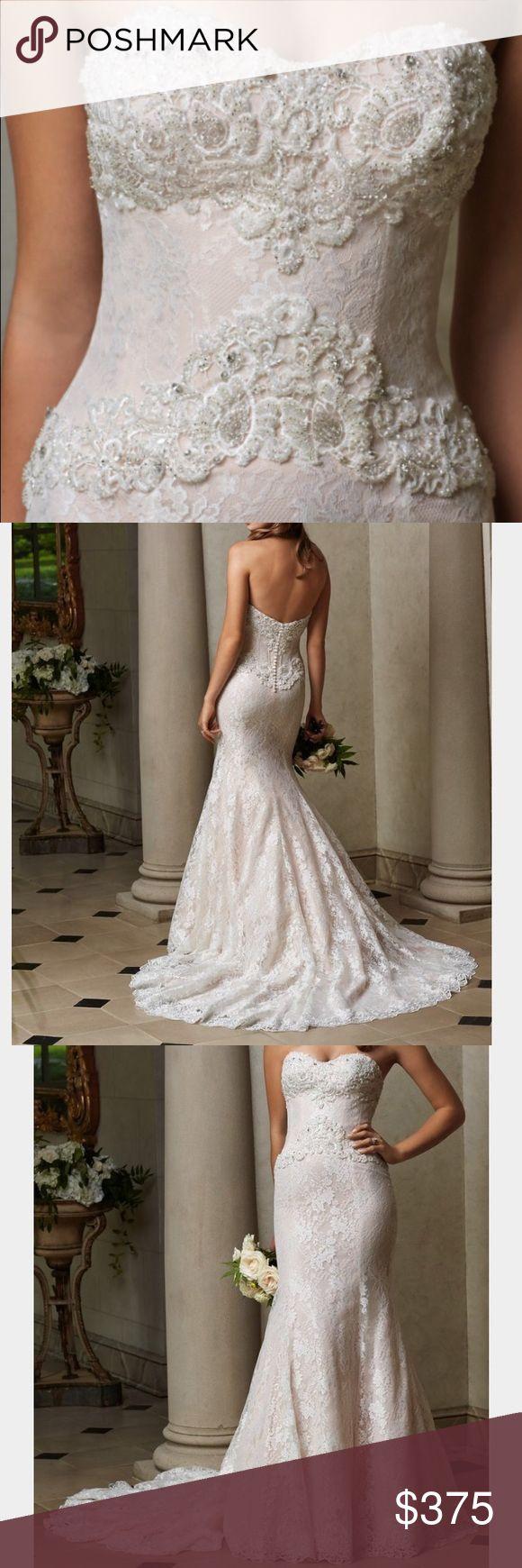 Selling this WTOO Isadora size 10 wedding dress on Poshmark! My username is: ehoranpe. #shopmycloset #poshmark #fashion #shopping #style #forsale #WTOO #Dresses & Skirts