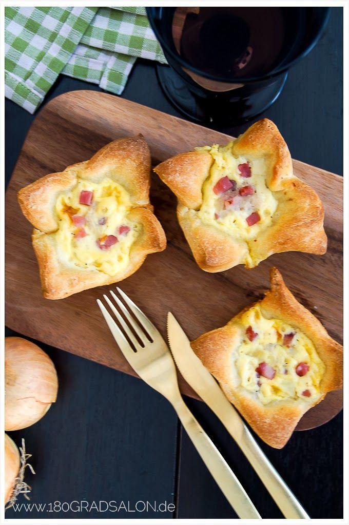 Herzhafte Zwiebelkuchen Muffins by 180°Salon