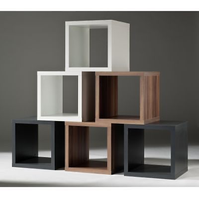 w rfel wandregal cubes regale wandregale modern. Black Bedroom Furniture Sets. Home Design Ideas