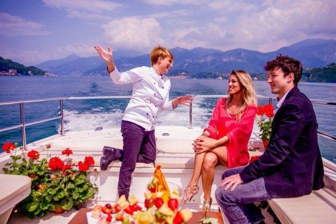 NEWS - Benvenuti su ristonewstime!  Love on the Boat  Sul Lago di Como con lo Chef Private Antonella Coppola