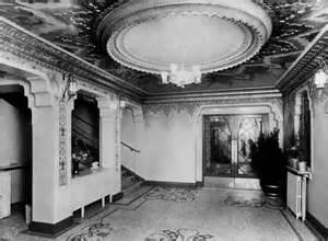 Old photo, interior of Tyneside Cinema, Newcastle-upon-Tyne, UK.