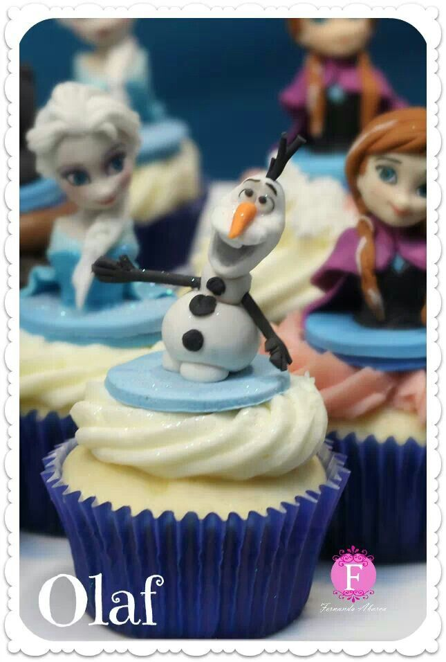 Olaf - Frozen Cupcakes