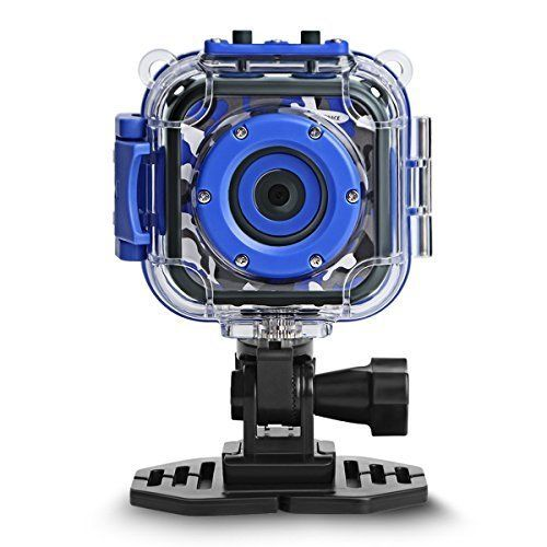 DROGRACE Children Kids Camera Waterproof Digital Video HD Action Camera 1080P Sports Camera Camcorder DV for Boys Birthday Holiday Gift Learn Camera Toy 1.77'' LCD Screen (Navy Blue). #DROGRACE #Children #Kids #Camera #Waterproof #Digital #Video #Action #Sports #Camcorder #Boys #Birthday #Holiday #Gift #Learn #Screen #(Navy #Blue)