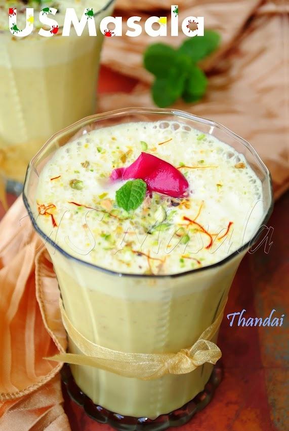 Thandai/Spicy Nutty Almond Milk