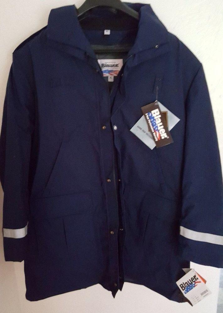 Blauer 9030 GoreTex Jacket XL Police Uniform B.WARM® Liner Mass Buttons Blue #Blauer #LawEnforcement