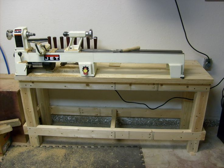 Lathe Stand And First Turning Pics Garage Wood Shop
