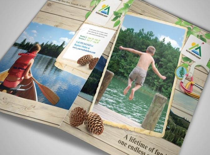 25 best -CAMP BROCHURES- images on Pinterest Pine, Camps and - summer camp flyer template