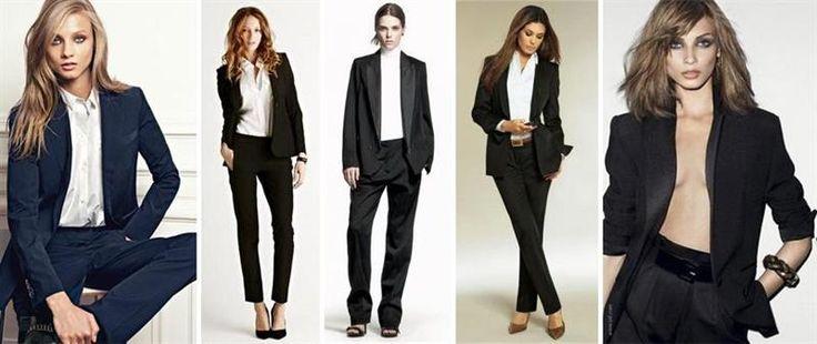 Фото женских деловых костюмов черного цвета