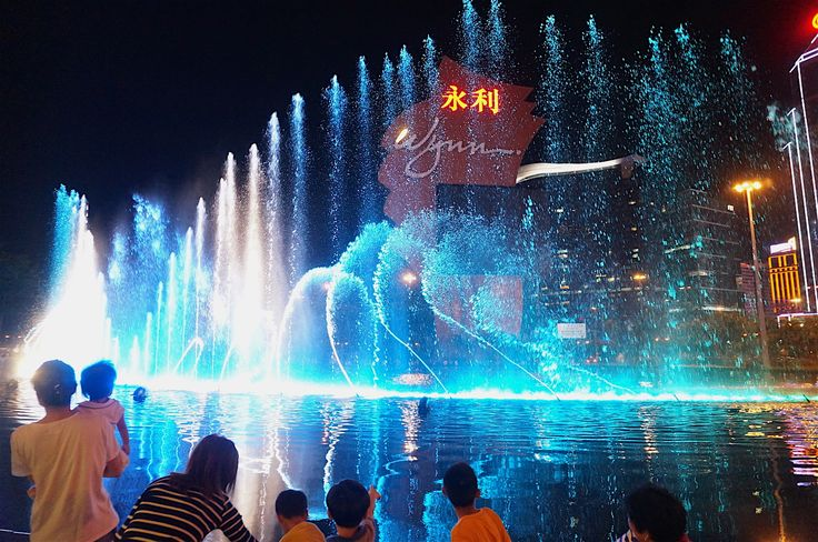 Macau Night life is awesome!