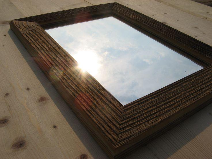 zrcadlo - staré dřevo