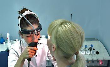 Ультразвуковое лекарственное орошение при хроническом фарингите
