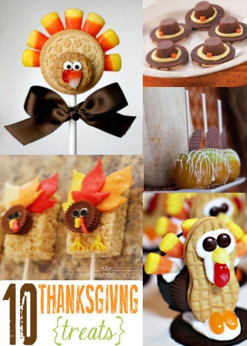 10 Must-See Thanksgiving Treats! {lilluna.com} #thanksgiving