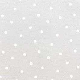 Vrolijk vliesbehang met stippen uit de Baby collectie van Onszelf. Dit behang is metallic beige met witte stippen. Door de metallic beige kleur krijgt het behang een glanzend effect. Dit behang staat super leuk in elke kamer. LET OP: Wilt u meerdere rollen bestellen, bestel deze dan gelijktijdig. De rollen behang komen dan uit dezelfde drukserie en hebben dan geen onderlingkleurverschil.