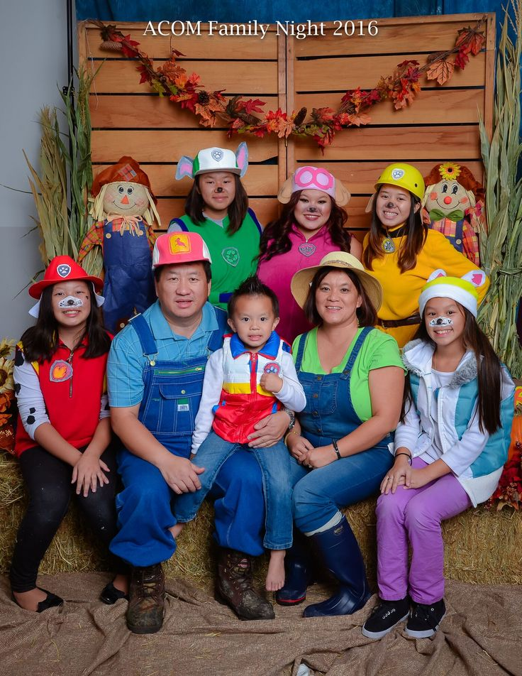 Paw Patrol Family costume | Fiestas de paw patrol ...