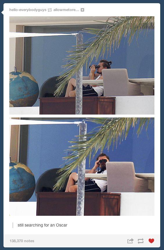 The Internet Really Wants Leonardo DiCaprio To Win An Oscar hahahaha I am laughing so hard right now