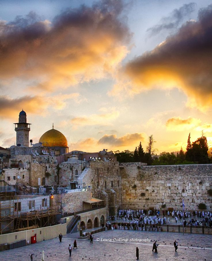 Western Wall, Old City Jerusalem...Lewis Outing has done the perfect job of capturing the ambiance of Jerusalem!
