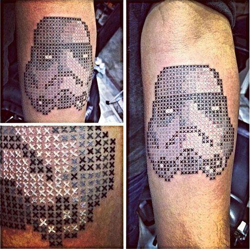 Ankaralı dövme sanatçısının kanaviçe dövmeleri fenomen oldu