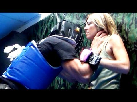 KRAV MAGA TRAINING • Choked against a wall - YouTube