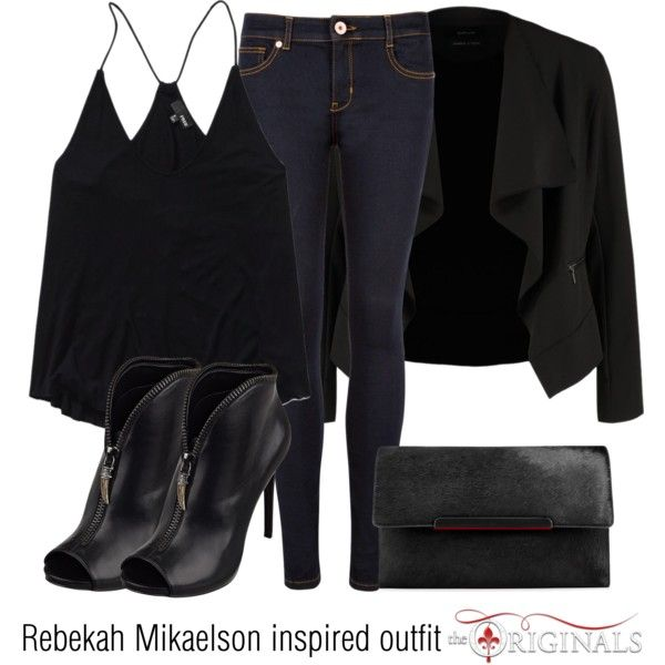 Rebekah Mikaelson inspired outfit/TO