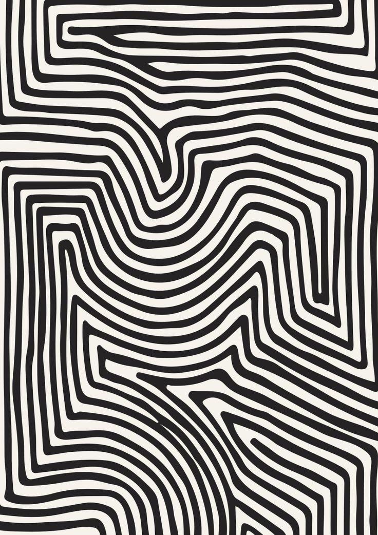 Line Art Aesthetic Character Design En 2020 Fond D Ecran Abstrait Design Motif De Surface Photo Noir Et Blanc