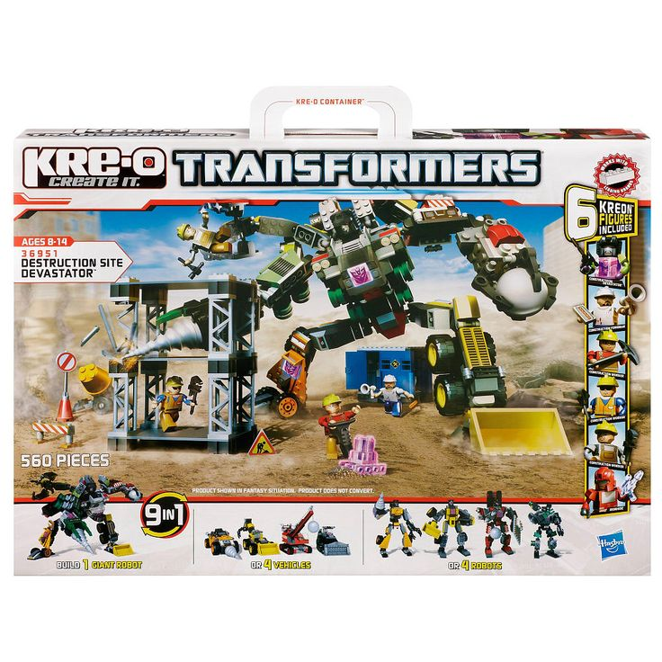 KRE-O Transformers Construction Sets #HasbroKREO