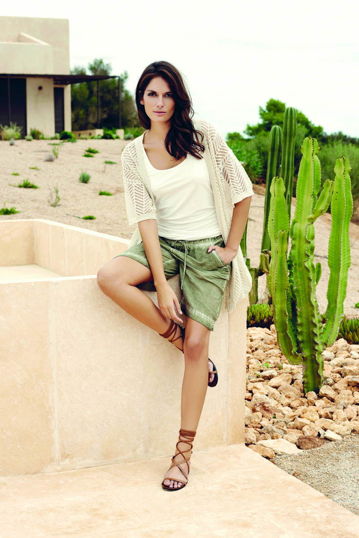 soyaconcept - top - blouse - cardigan - shorts