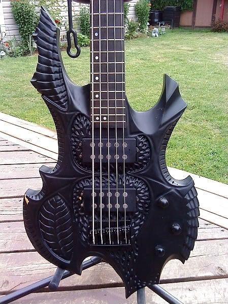 weird bass guitars guitars pinterest. Black Bedroom Furniture Sets. Home Design Ideas