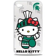 NCAA - Michigan State Spartans Hello Kitty iPhone 4/4S Hard Shell Case