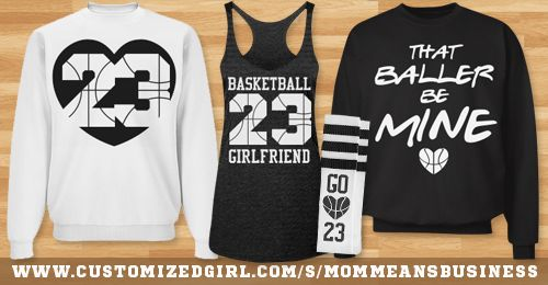 #Marchmadness. We'll take any excuse to still be able to wear our basketball girlfriend shirts!
