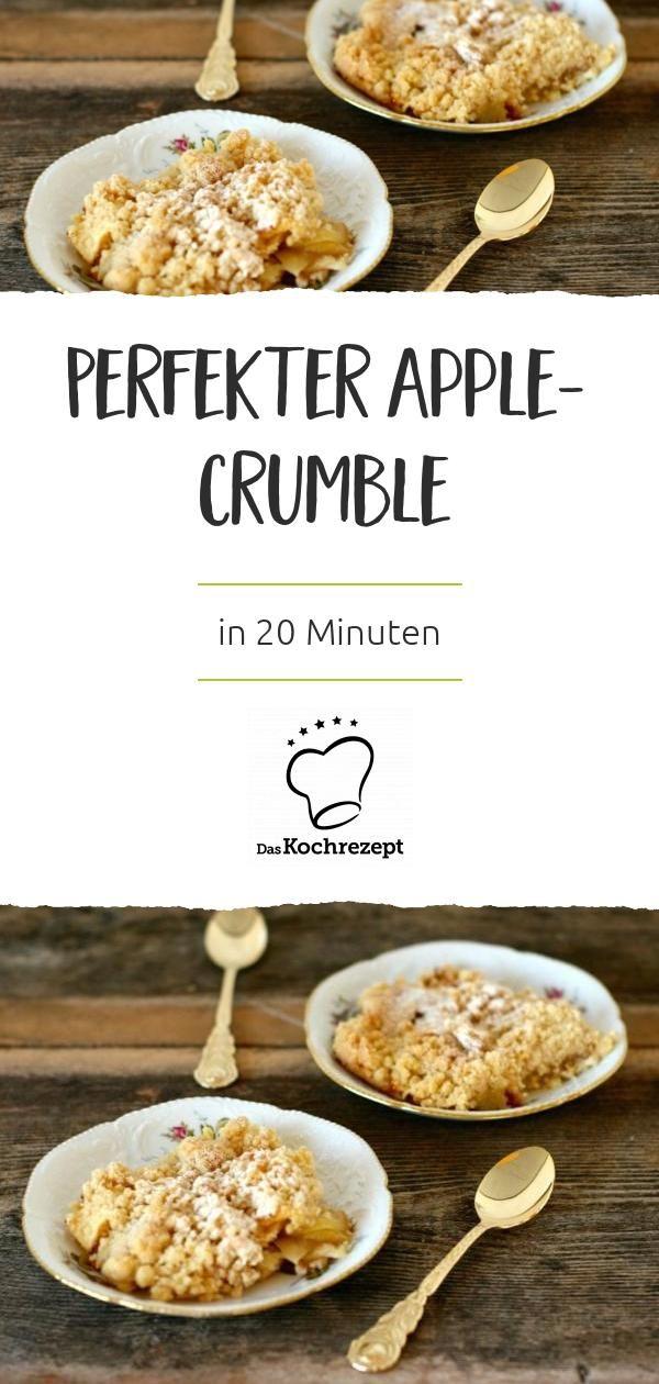 Ein himmlisches Dessert: Warme, duftende Äpfel unter einer knusprigen Kruste …   – Die besten Apfel-Rezepte: gesund, fruchtig & lecker!