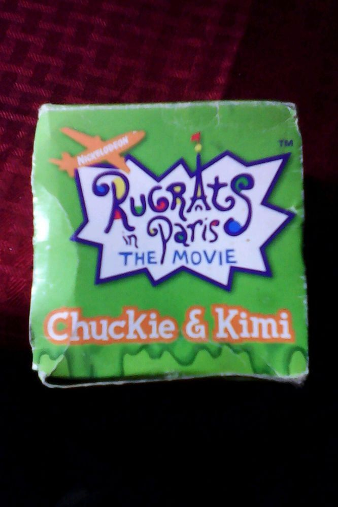 2000 Burger King the Movie Chatback Watch Chuckie & Kimi Rugrats In Paris