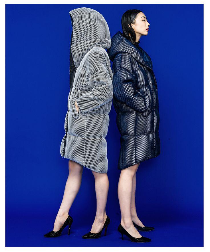 C.l.j женские вниз пальто и куртки новинка женский парка 3D перспективность сетки с пуховики женская зимний пиджаки купить в магазине Miss FoFo Online Top-rated Seller на AliExpress