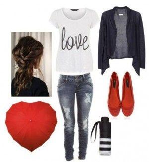 Looks para combinar zapatos rojos, encuentra más opciones en... http://www.1001consejos.com/looks-para-combinar-zapatos-rojos/