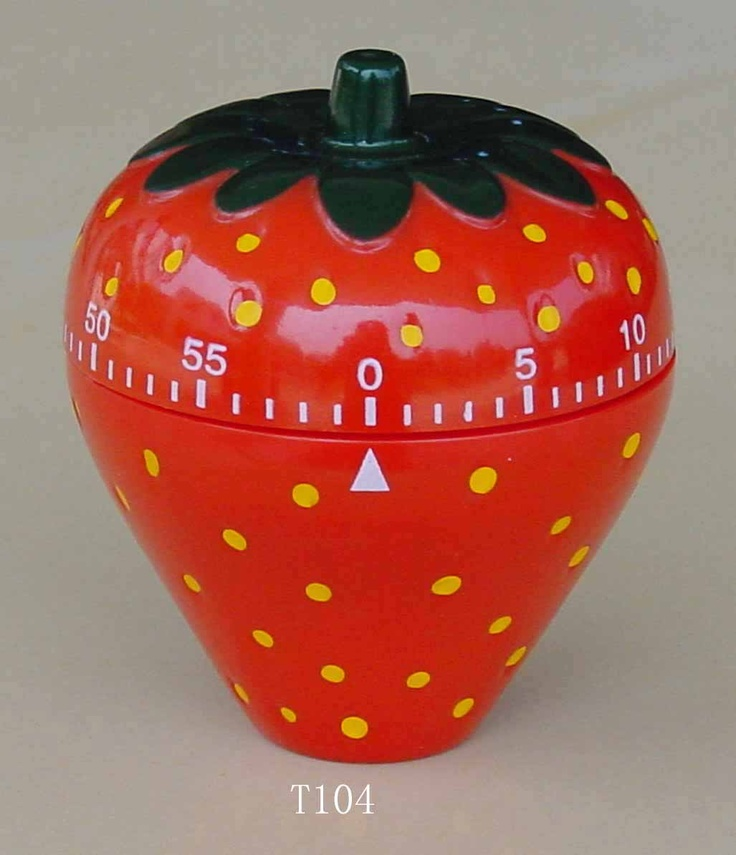 Best 25 kitchen timers ideas on pinterest kitchen supplies cupcake kitchen theme and - Strawberry themed kitchen decor ...
