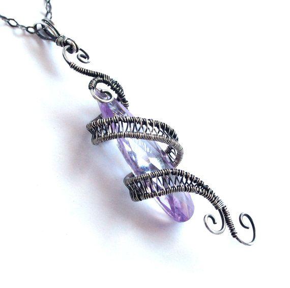 starfall pendant light amethyst purple