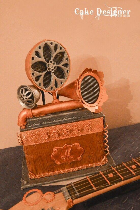 Cake Designer per caso [Fender Stratocake]
