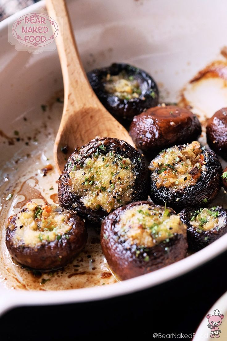 Making these easy roasted garlic button mushrooms never fails to please. At least in our household. They are perfect as a side dish to go with just about any type of protein, a great dinner party starter or simply on its own.