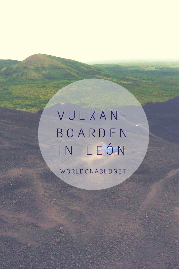 Vulkanboarden in León in Nicaragua ist eines dieser once in a lifetime Erlebnisse. Volcanoboarding on Cerro Negro
