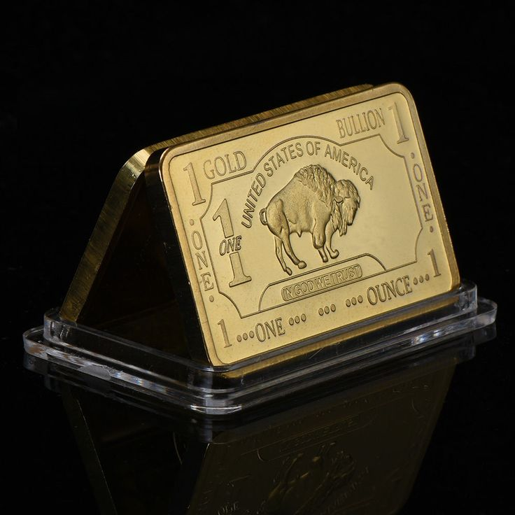 Wr Art 1 Troy Oz 100 Mills 999 Gold Us Buffalo Clad Bar Collectors Gift In Case Wr Gold Bullion Collector Gifts Buffalo Bar