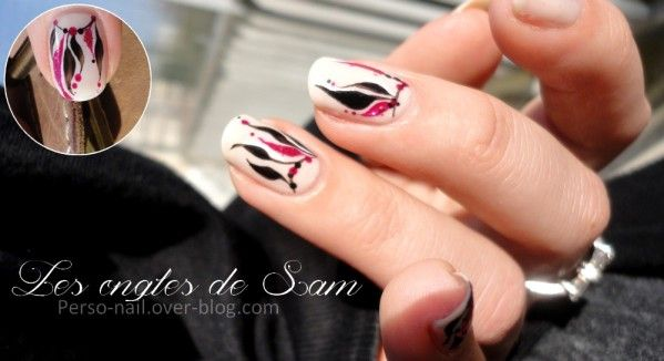 Nail art, sorte d'attrape-rêves