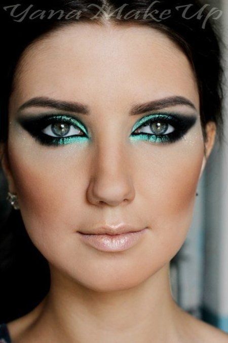 15 Must-see Teal Eye Makeup Pins