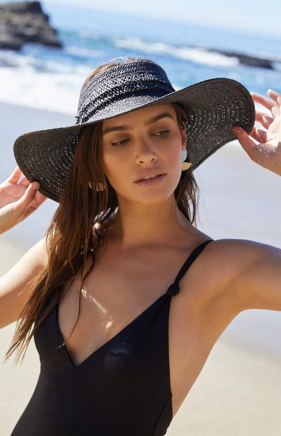 3693d2ae04cd3e La Hearts No Top Straw Hat#strawhat#hats#hat #sunhat#swimsuit#lahearts#summer#shopstyle