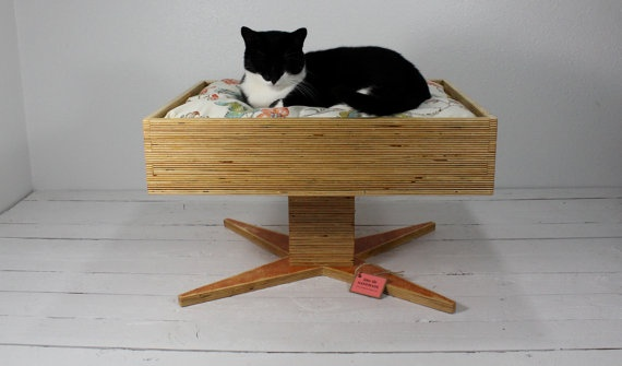 We need a solution for our ratty cat bed. This could be it.