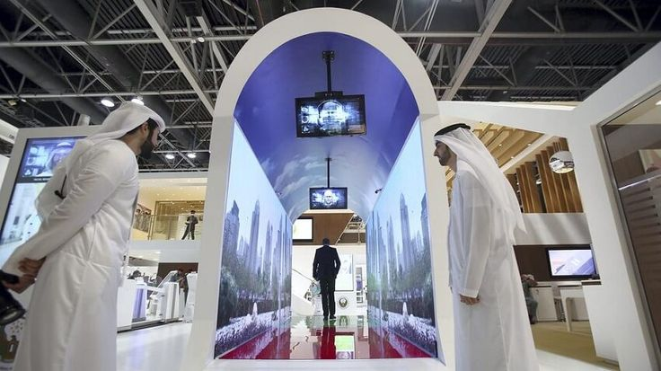 Dubai Airport offers a tunnel that scans your face upon walking through it