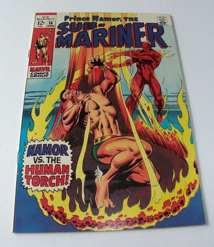 Sub-Mariner #14 Marvel Silver Age Comic Book Summer Blowout Sale!!!!!!!!!!!!!!!!