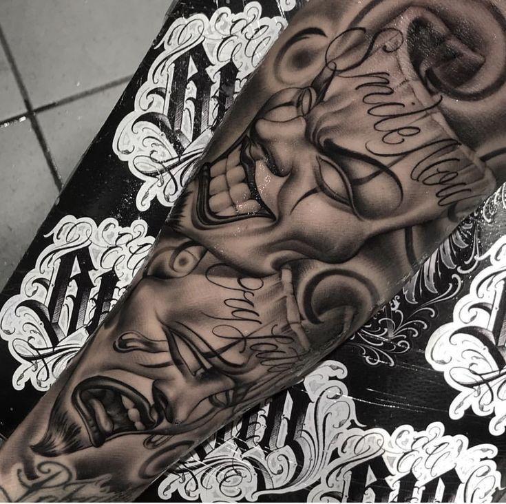 Notitle Womenstattoochristian Womenstattoocollarbone Womenstattooinspiration Womenstattooside Womens In 2020 Chicano Tattoos Sleeve Chicano Tattoos Tattoos