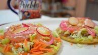 CHUCHEMAN como hacer tostadas de carne deshebrada de res - Recetas de cocina Mexicanas