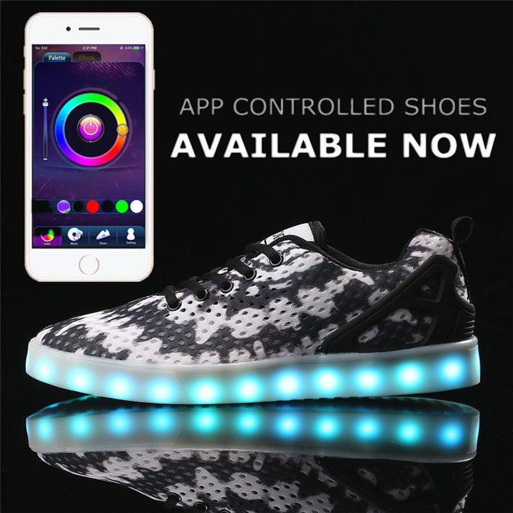 Aliexpress.com : Buy Basket Shoes APP Remote Control 8 Colors LED New Shoes Large Size LED Light Up Shoes for Men Adults Luminous Shoe Fashion Unisex from Reliable shoes large size suppliers on HoverKicks Store